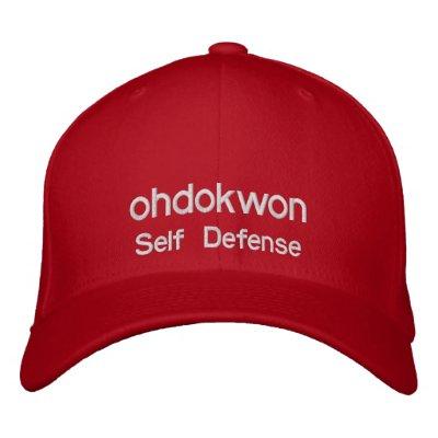 Oh haga el gorra bordado Kwon Gorra Bordada