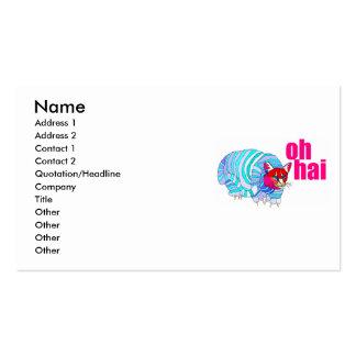 oh hai business card