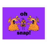 oh Halloween rápido Postal
