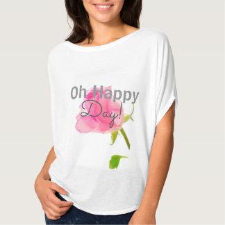 Oh happy day, a beautiful customizable bouse T-Shirt