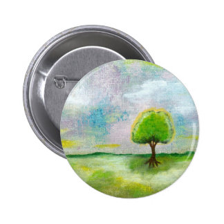 Oh Happy Day Design From Original Painting Pinback Buttons