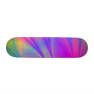"""Oh Happy Day!"" Fractal Art Skateboard"
