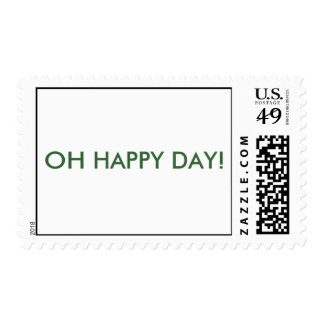 OH HAPPY DAY! POSTAGE STAMP