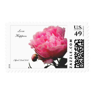 Oh Happy Day Wedding Postage Custom Stamps