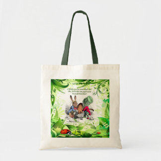 Oh, He'll Fit! Canvas Bags