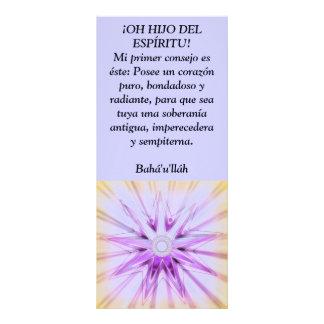 ¡OH HIJO DEL ESPÍRITU! RACK CARD