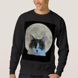 Oh, hola gatito y la Luna Llena Sudadera