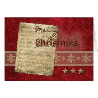 Oh Holy Night Christmas Greeting Card