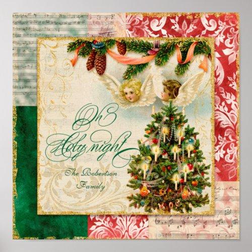 Oh Holy Night Vintage Christmas Carol Sheet Music
