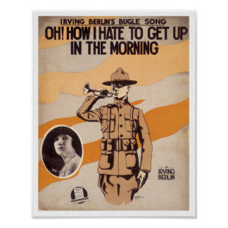 Oh! How I Hate To Get Up poster