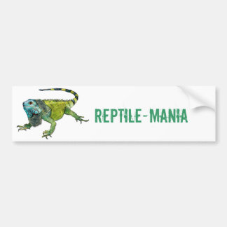 Oh How Iguana Go Home Bumper Sticker