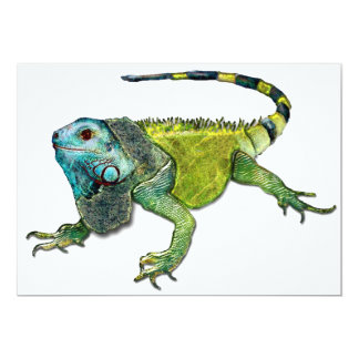 Oh How Iguana Go Home Personalized Invites