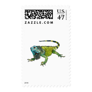 Oh How Iguana Go Home Postage