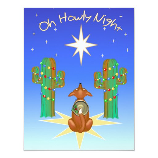 Oh Howly Night 4.25x5.5 Paper Invitation Card