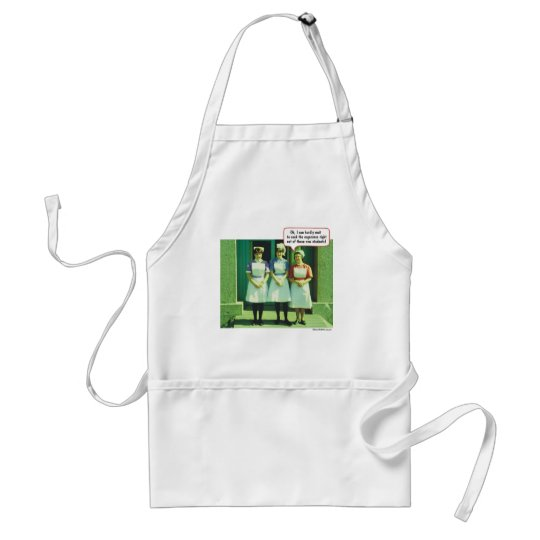 Oh, I can hardly wait! Adult Apron