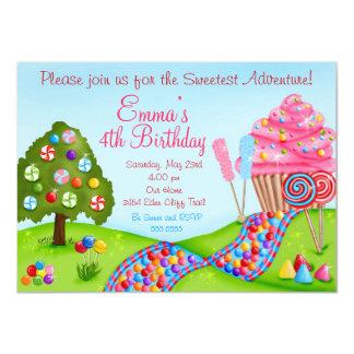 Oh invitaciones dulces de la magdalena del comunicado