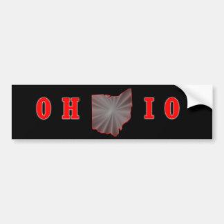 OH IO Ohio State Buckeye Bumper Sticker Car Bumper Sticker