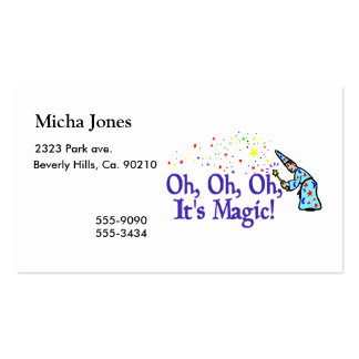 Oh It's Magic Business Card
