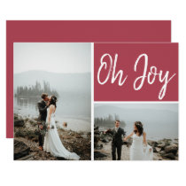 Oh Joy Custom Multiple Photo Christmas Card