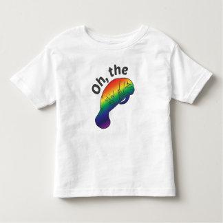 Oh la camiseta del Manatee de la tonalidad