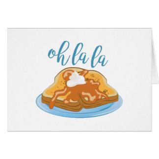 Oh La La Card