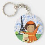 Oh La La Paris Keychain
