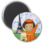 Oh La La Paris Magnet