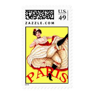 Oh La La Paris Postage Stamps