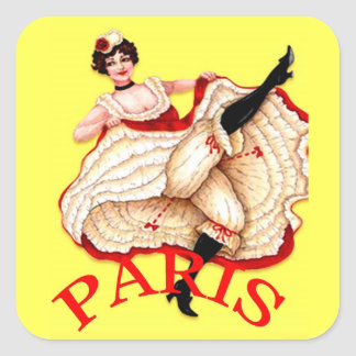 Oh La La Paris Sticker