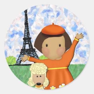 Oh La La Paris Stickers