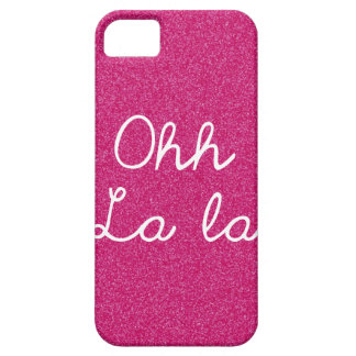 Oh La La - Raspberry Pink iPhone SE/5/5s Case