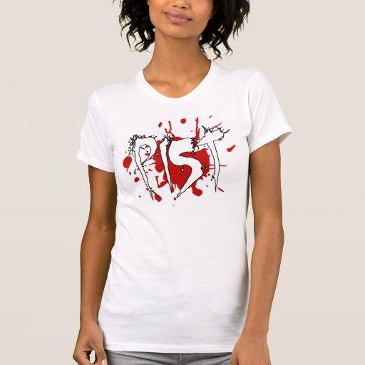 Oh la sangre camiseta