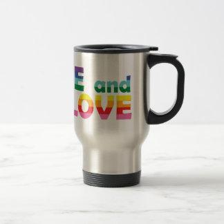 OH Live Let Love Travel Mug