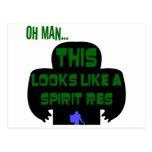 Oh Man, SpiritRes Postcard