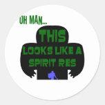 Oh Man, SpiritRes Sticker