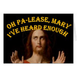 Oh Maria he oído por favor bastantes Tarjeta