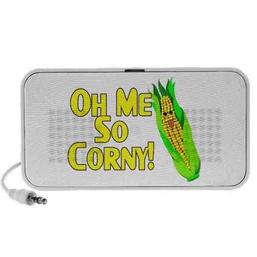Oh Me So Corny iPhone Speaker