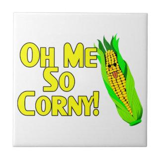 Oh Me So Corny Tile