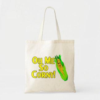 Oh Me So Corny Tote Bag