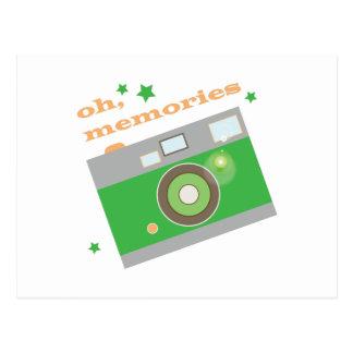 Oh memorias postales