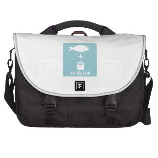 Oh mi bacalao bolsas de portatil