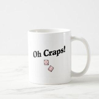 Oh mierdas taza de café