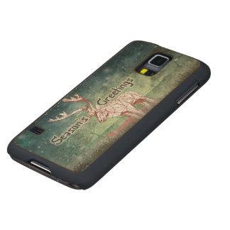 ¡Oh mis ciervos! cajas de madera de la galaxia S5 Funda De Galaxy S5 Slim Arce