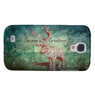 ¡Oh mis Felices Navidad de Deer~! cajas de la Funda Para Galaxy S4