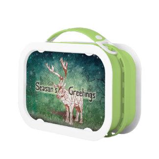 ¡Oh mis Felices Navidad de Deer~! fiambrera del |