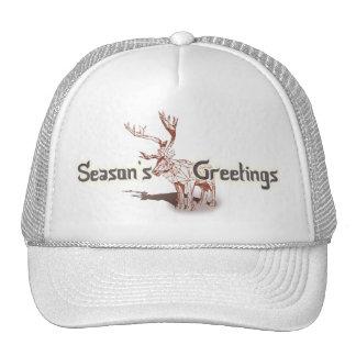 ¡Oh mis Felices Navidad de Deer~! gorras del