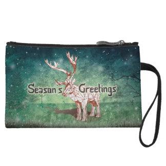 ¡Oh mis Felices Navidad de Deer~! mini embrague