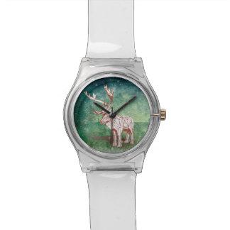 ¡Oh mis Felices Navidad de Deer~! reloj del |