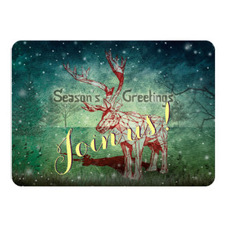Oh My Deer~ Merry Christmas! | Invitation Cards