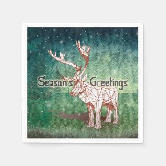 Oh My Deer~ Merry Christmas! | Napkins Standard Cocktail Napkin